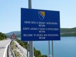 kurzes Stueck in Bosnien-Herzegowina