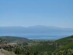 Abfahrt hinunter zum Ohridsee