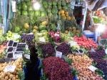 Lebensmittelmarkt auf der asiatischen Seite