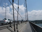auf der Bosporusbrücke