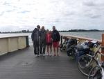 Steffi und Chris, zwei Radler aus Deutschland
