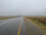 bei der Weiterfahrt regnete es wiedermal in Stroemen...